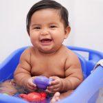 Developmental benefits of bath time