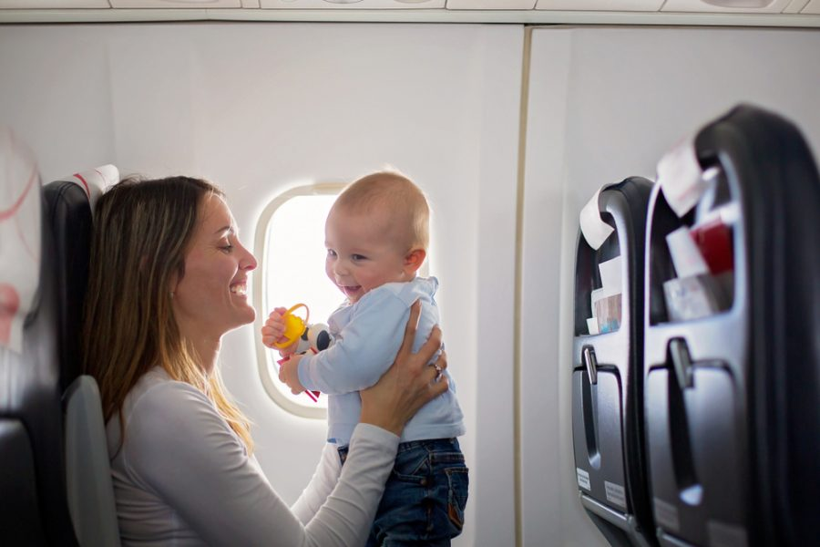 Tips for Air Travel with Babies & Toddlers