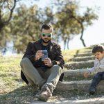 How parent screen time affects children