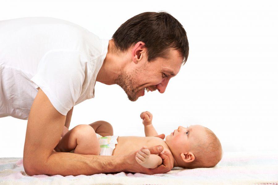 Beneficios de los ejercicios para bebés