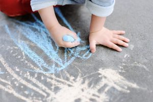 Toddler Stages of Scribbling