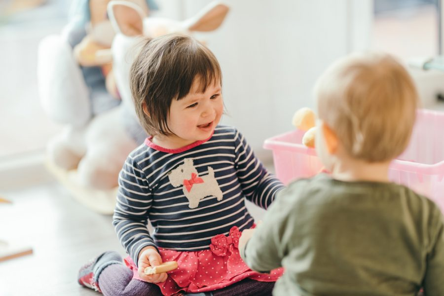 Teaching Positive Assertiveness to Toddlers