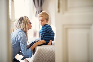 Helping a toddler through divorce