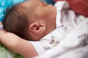All about piercing baby's ears