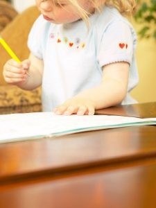 Toddler tracing: a pre-writing skill
