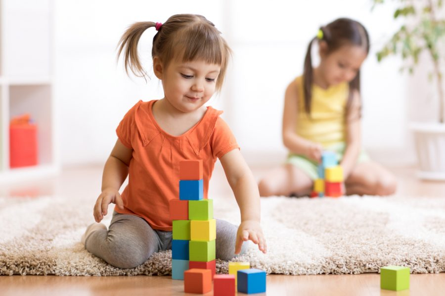Stages of Block Play Through Age 36 Months