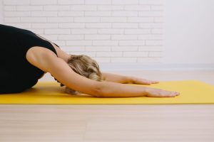 Simple yoga for new moms