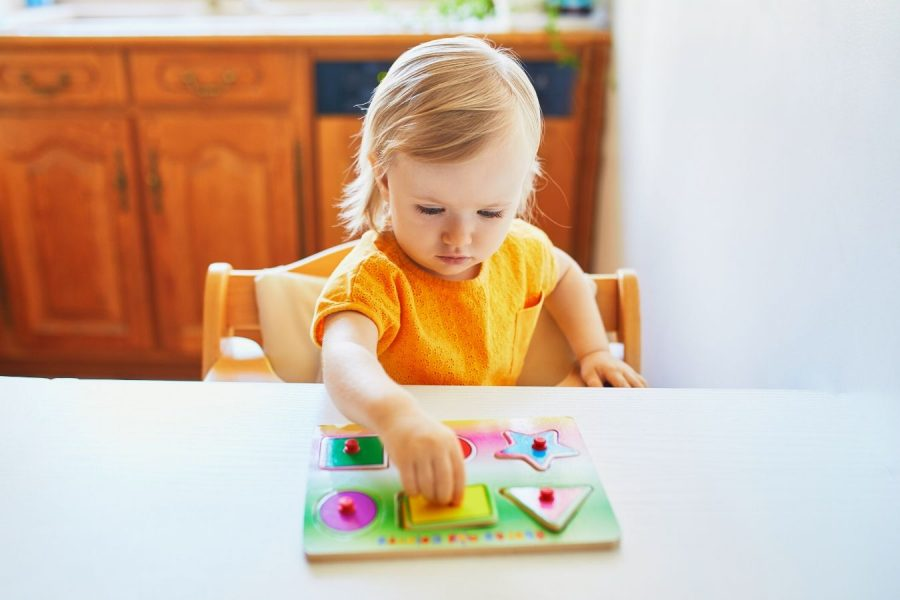 Puzzle Milestones from Infancy through Toddlerhood
