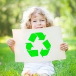 Recycling with toddlers