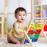 Using math words with babies and toddlers
