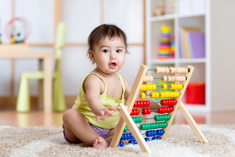 Why Use Math Words with Your Baby or Toddler?