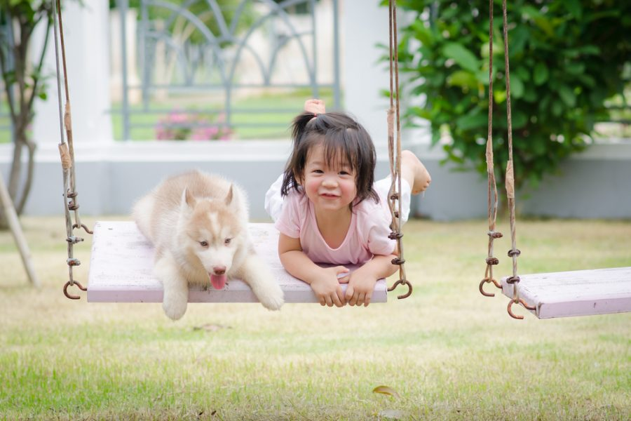 The Benefits of Growing Up with Pets